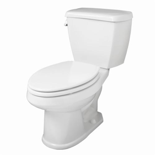 Gerber® Avalanche™ AV-21-862 Toilet Bowl, White, Elongated, 12 in Rough-In, 6-5/8 in H Rim, 2 in Trapway