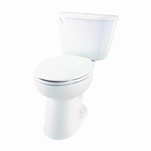 Gerber® Viper® HE-21-872 Toilet Bowl, White, Elongated, 12 in Rough-In, 6-1/8 in H Rim, 2 in Trapway