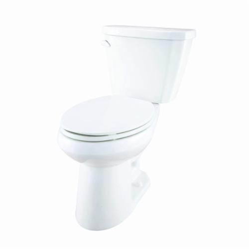 Gerber® Viper® VP-21-528 Toilet Bowl, White, Elongated, 12 in Rough-In, 5-3/4 in H Rim, 2 in Trapway