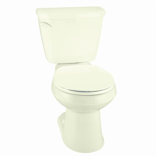 Gerber® Viper® VP-21-552-09 Toilet Bowl, Biscuit, Round, 12 in Rough-In, 5-1/2 in H Rim, 2 in Trapway