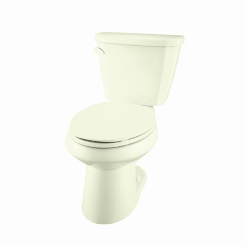 Gerber® Viper® VP-21-562-09 Toilet Bowl, Biscuit, Round, 12 in Rough-In, 5-3/4 in H Rim, 2 in Trapway