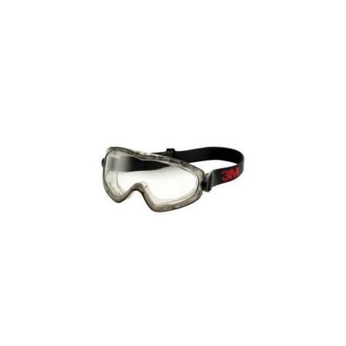 3M™ Solus™ 051131-27189 S1101SGAF-KT 1000 Premium Safety Glasses Kit, Scotchgard™ Anti-Fog Clear Lens, Half Framed Blue/Black Polycarbonate Frame, Polycarbonate Lens, Specifications Met: ANSI Z87.1-2015, CSA Z94.6