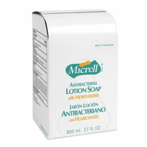 MICRELL® 9755-04 Antibacterial Lotion Soap, 1 gal, Pump Bottle, Liquid, Citrus, Amber