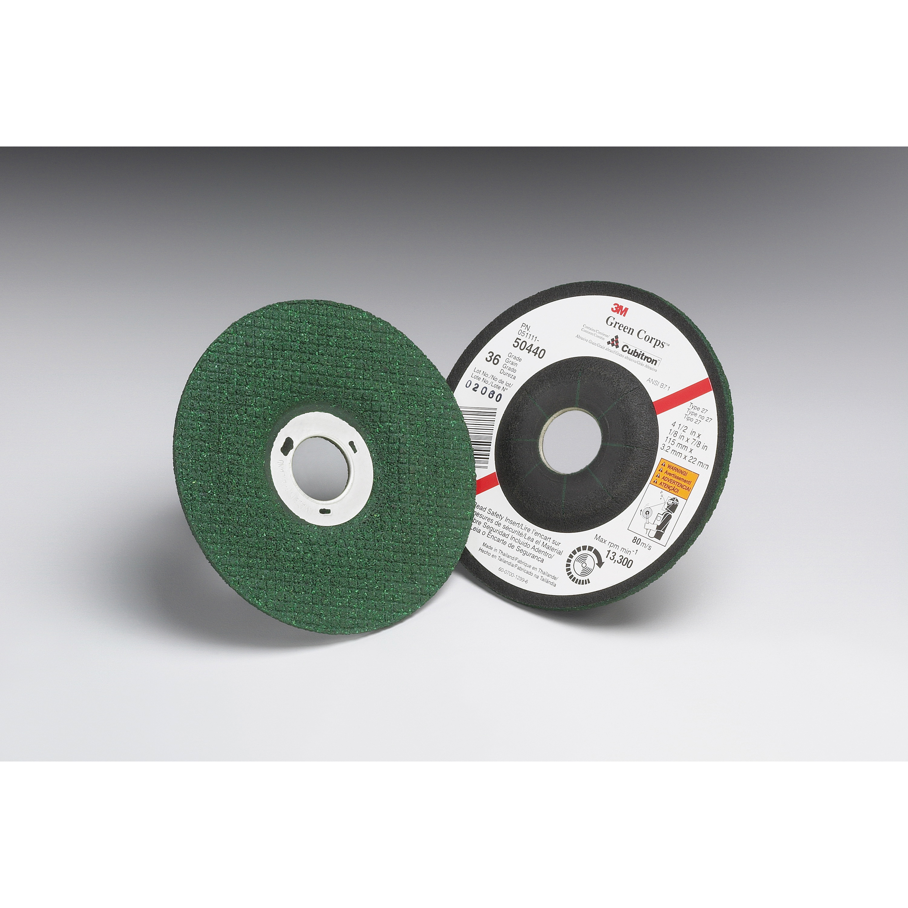 Green Corps™ 01994 Straight Cut-Off Wheel, 4 in Dia x 1/32 in THK, 3/8 in Center Hole, Ceramic Abrasive