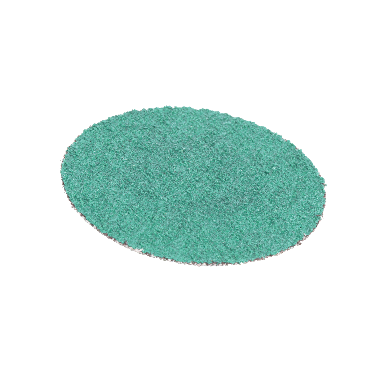 Green Corps™ Hookit™ Regalite™ 051131-00521 750U 255U Open Coated Abrasive Open Coated Abrasive Disc, 8 in Dia Disc, 80 Grit, Very Coarse Grade, Ceramic Alumina Abrasive, Paper Backing