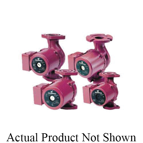 Grundfos 59896213 UP Series Canned Rotor Circulator Pump, 2.75 gpm Flow Rate, 1/2 in C Inlet x 1/2 in C Oulet, 115 VAC
