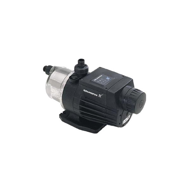 Grundfos 96860195 MQ Series Pressure Booster Pump, 13.6 gpm Flow Rate, 1 in NPT Inlet x 1 in NPT Outlet, 110 to 120 VAC, 1 ph