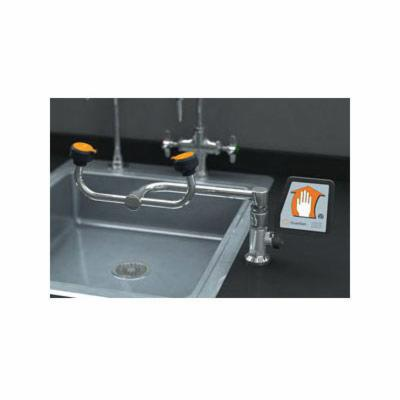 Guardian G1806 Eyewash, Deck Mounting, Push Handle Operation, Specifications Met: ANSI Z358.1-2014