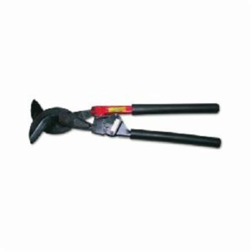 H.K. Porter® 8690CK Ratcheting Cable Cutter, 1/2 in Cable/Wire, 28 in OAL, Notched Shear Cut, Forged Alloy Steel Jaw