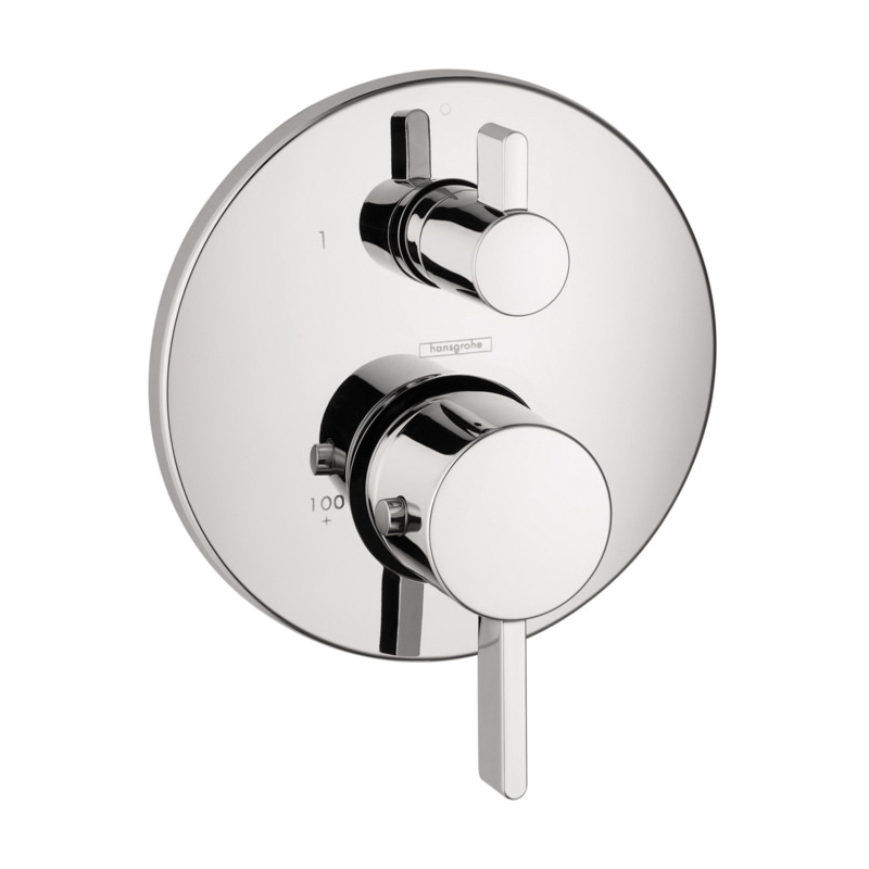 Hansgrohe 04231000 Thermostatic Trim, Polished Chrome