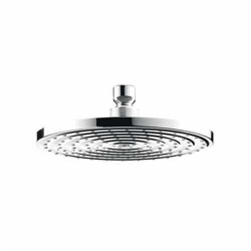 Hansgrohe 27476001 1-Jet Shower Head, Raindance S 180 AIR, 2.5 gpm, 1 Sprays, Ceiling/Wall Mount, Domestic