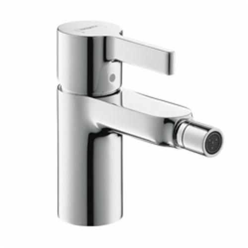 Hansgrohe 31261001 Metris S Bidet Faucet, 2.2 gpm, 3-1/4 in H Spout, 1 Handle, Pop-Up Drain, Polished Chrome, Import