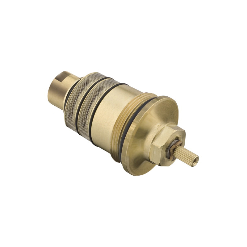 Hansgrohe 96633000 BTC Thermostatic Cartridge, For Use With: Axor iBox Trim and Axor EcoMax Trim, Metal, Polished Chrome
