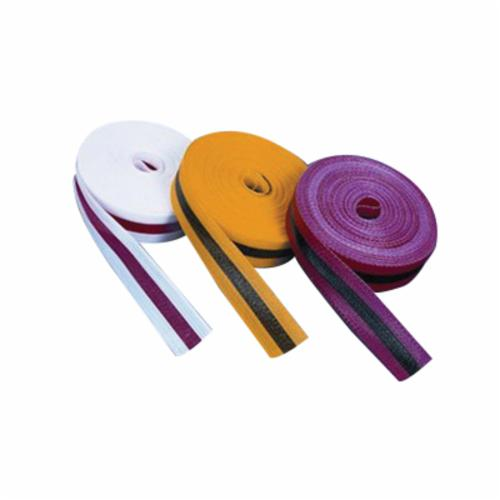 Harris Industries VM126YL Floor Marking Tape, Rubber-Based Adhesive, Vinyl, Yellow, 4 in WD x 180 ft LG x 5 mil THK