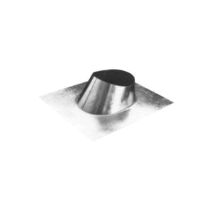 AmeriVent® 3EF EF Series Standard Round Flashing, Steel, 3 in Pipe, 12-1/2 in W x 14-3/4 in L Base, Import