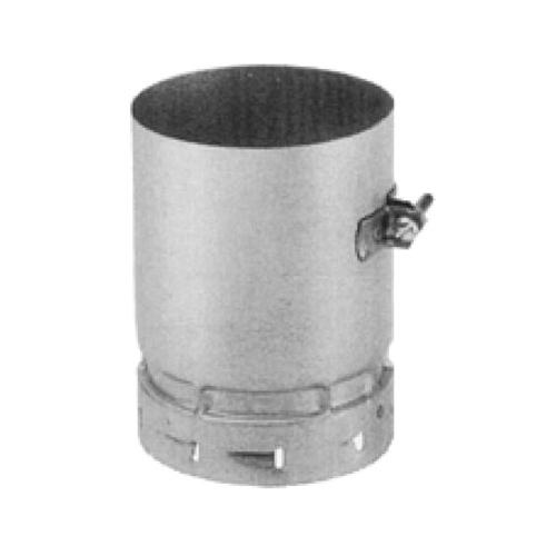 AmeriVent® 6EUA-M Universal Male Adapter, 6 in Dia x 6-1/2 in L, Steel, Galvanized