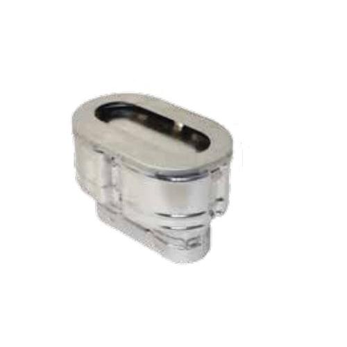 AmeriVent® 086230 OC Series Universal Rain Cap, Fits Duct Size: 4 in, 5-3/8 x 8-1/2 in W x 3-1/2 in H Cap