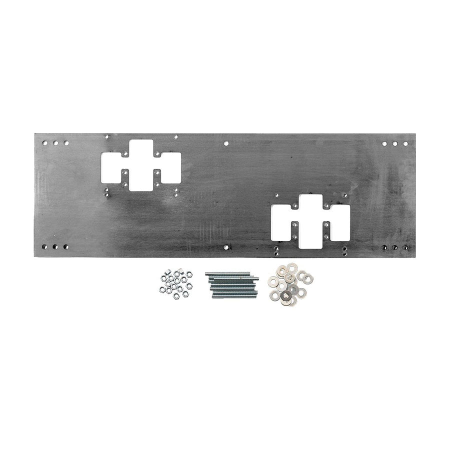 Haws® 6700.4 Mounting Plate, For Use With Haws® Dual Bubbler Fountain