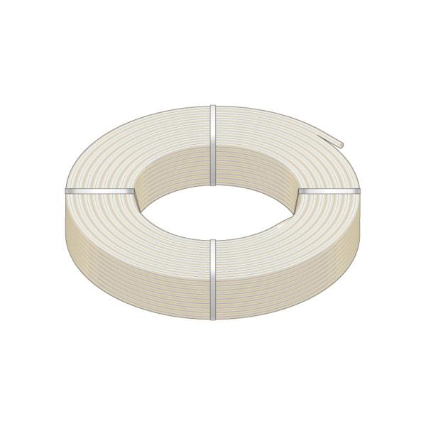 HeatLink® 20128 20000 UV Stabilized Plus Potable Water Tubing, 1 in Nominal, 0.862 in ID x 1-1/8 in OD x 100 ft Coil L, 1/8 in THK Wall, Natural/Blue, Engel/Peroxide, Import