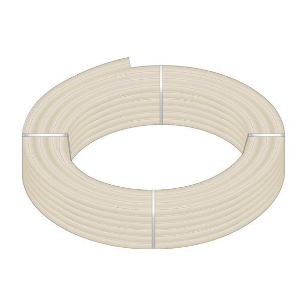 HeatLink® 20145 20000 UV Stabilized Plus Potable Water Tubing, 1-1/2 in Nominal, 1.244 in ID x 1-5/8 in OD x 100 ft Coil L, 0.181 in THK Wall, Natural/Black, Engel/Peroxide, Import