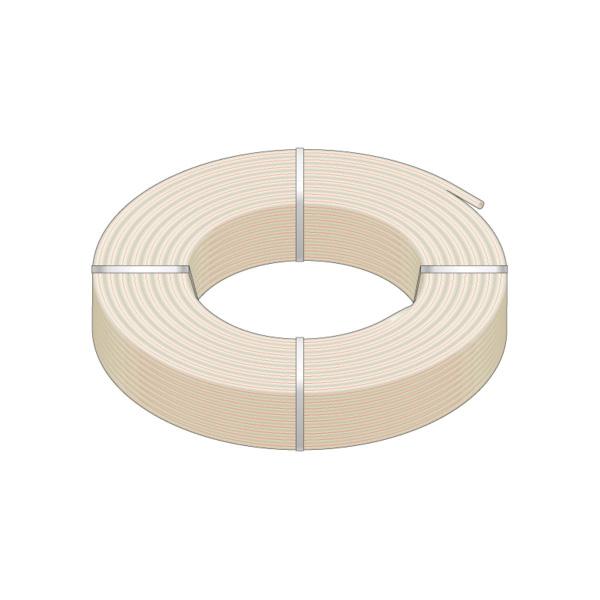 HeatLink® 21128 21000 UV Stabilized Plus Potable Water Tubing, 1 in Nominal, 0.862 in ID x 1-1/8 in OD x 100 ft Coil L, 1/8 in THK Wall, Natural/Red, Engel/Peroxide, Import