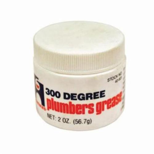 Hercules® 40601 Plumber's Grease, 2 oz Can, Liquid Form, Amber, -20 to 300 deg F