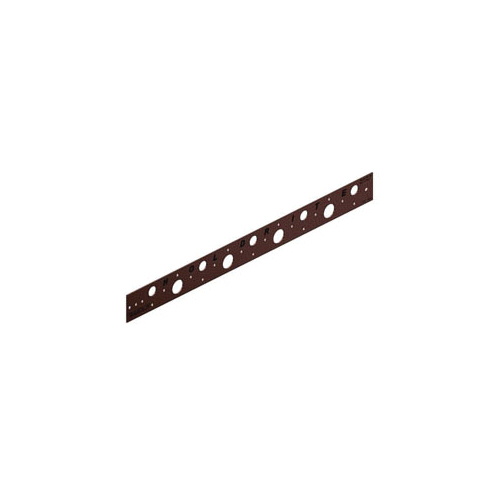 Holdrite® 150-20 Flat Bracket, 5/8 in, 7/8 in Hole, 25 lb, Cold Rolled Steel, Copper-Bonded™, Domestic