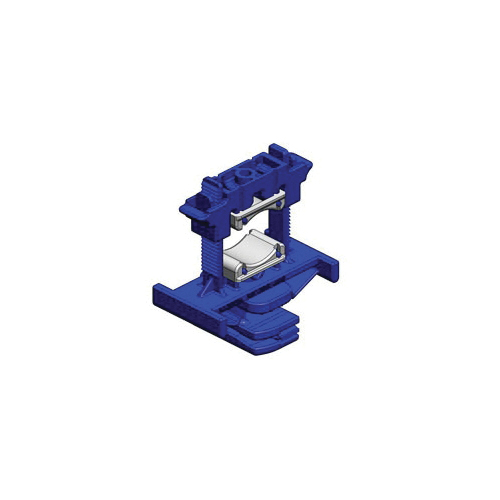 Holdrite® Strut Clamp™ 257-P Variable Strut Clamp With Pads, 1 in CTS Pipe/Tube, 200 lb, 2-1/2 in W x 2-7/8 in H, Nylon, Domestic