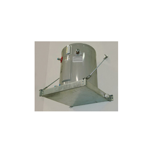 Holdrite® QUICKSTAND™ 50-SWHP-WM Wall Mounted Equipment Platform, 26-1/2 in L x 26-1/2 in W x 2-1/2 in H, For Use With: Up to 50 gal, 600 lb Water Heater, Domestic