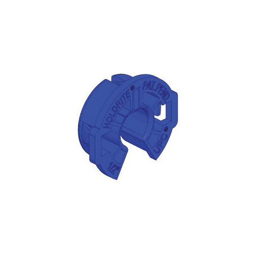 Holdrite® 404-R Tubing Isolator, 1/2 in CTS, 1-3/8 in Dia, Polyethylene, Blue, Domestic
