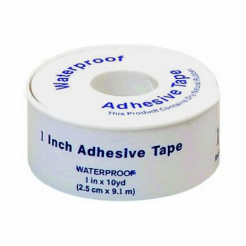 Honeywell Safety 023143 Waterproof Adhesive Tape, 5 yd L x 1/2 in W, White, Dry Natural Rubber