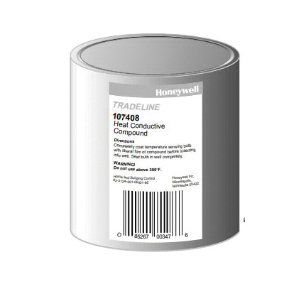 Honeywell 107408/U Heat Conductive Compound, 4 oz Can, Grease