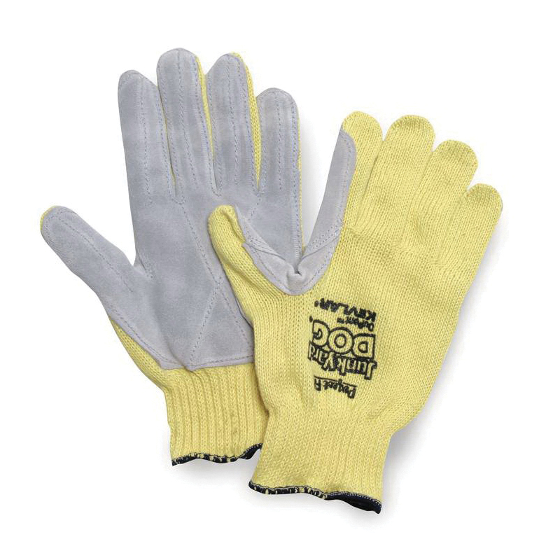 Sperian® by Honeywell KV18A-100 Perfect-Fit® Men's Standard Weight Cut Resistant Gloves, L, Uncoated Coating, DuPont™ Kevlar® Fiber, Knit Wrist Cuff, Resists: Abrasion and Cut, ANSI Cut-Resistance Level: A3, Paired Hand