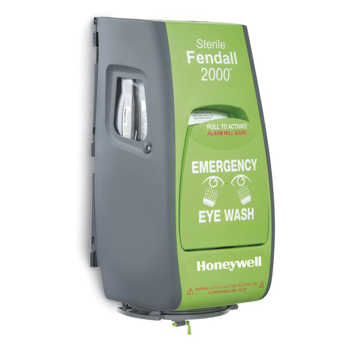 Honeywell 32-000465-0000 Eyesaline® Double Eyewash Station, Wall Mounting, Specifications Met: ANSI Z358.1