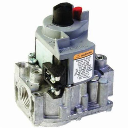 Honeywell VR8300A3500/U 1-Stage Gas Valve, 1/2 x 3/4 in, NPT, 0.5 psi, Standing Pilot Ignition, 30000 to 290000 Btu/hr Nominal, Import