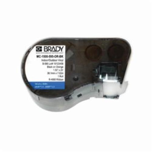 Brady® MC-1500-595-OR-BK