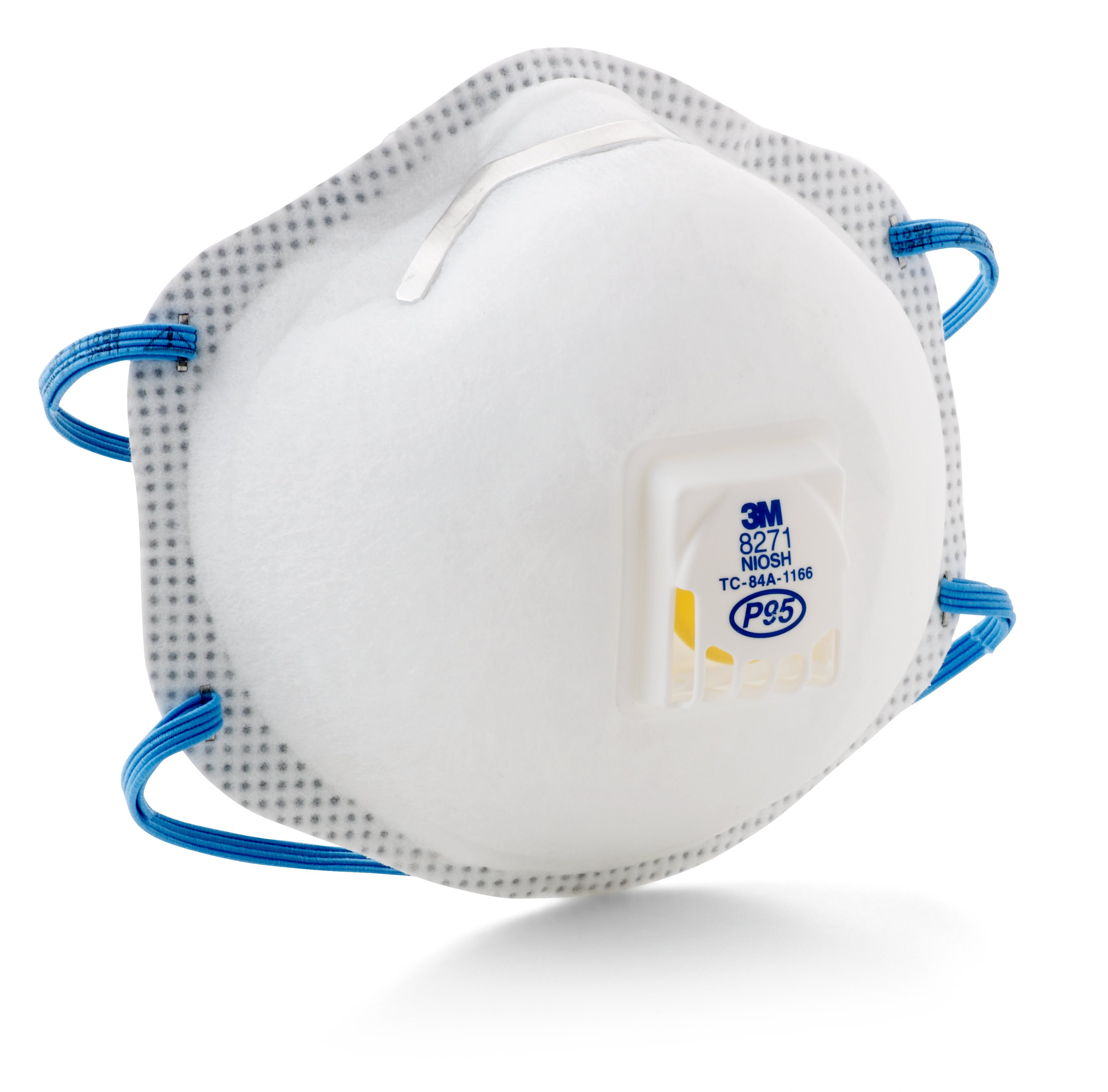 3M™ 8233 Standard Particulate Respirator, Resists: Non-Oil Based Particles