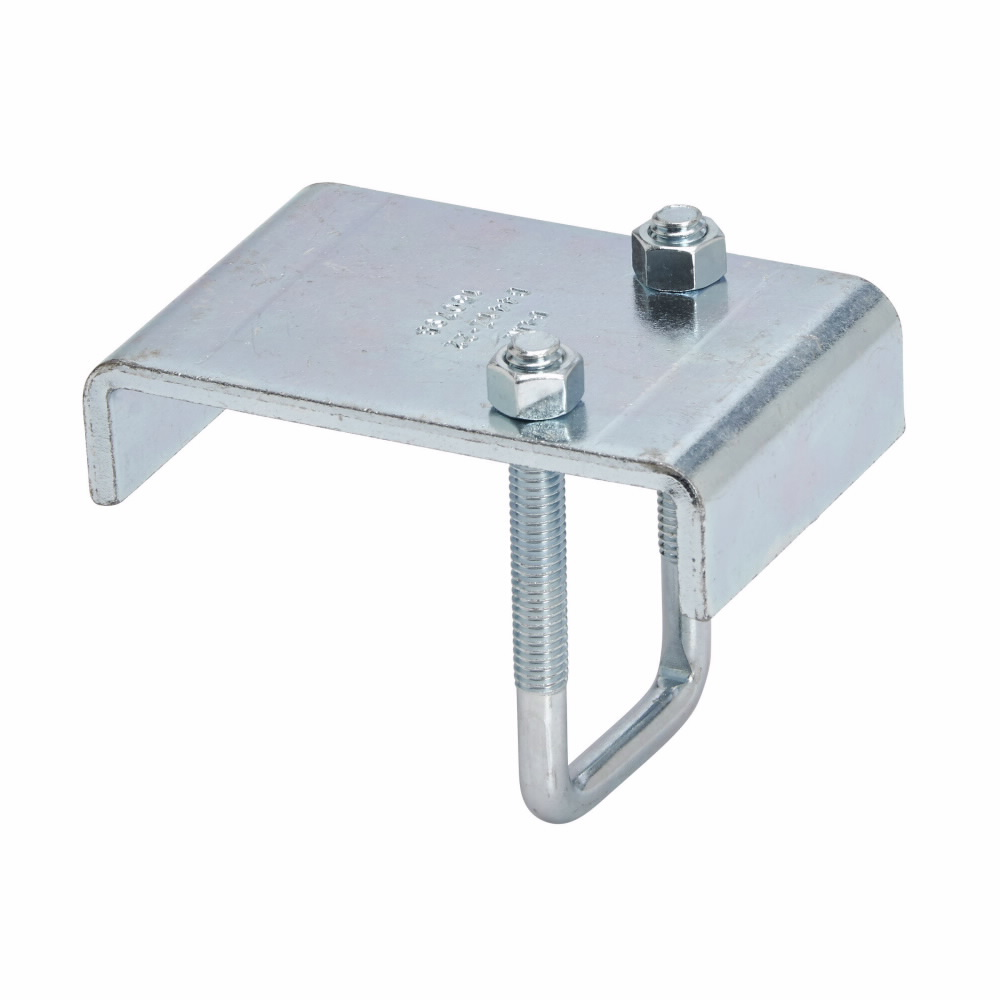 B-Line B441Z-22ZN Beam Clamp, 2-3/4 in THK Flange, 1200 lb Load, Low Carbon Steel