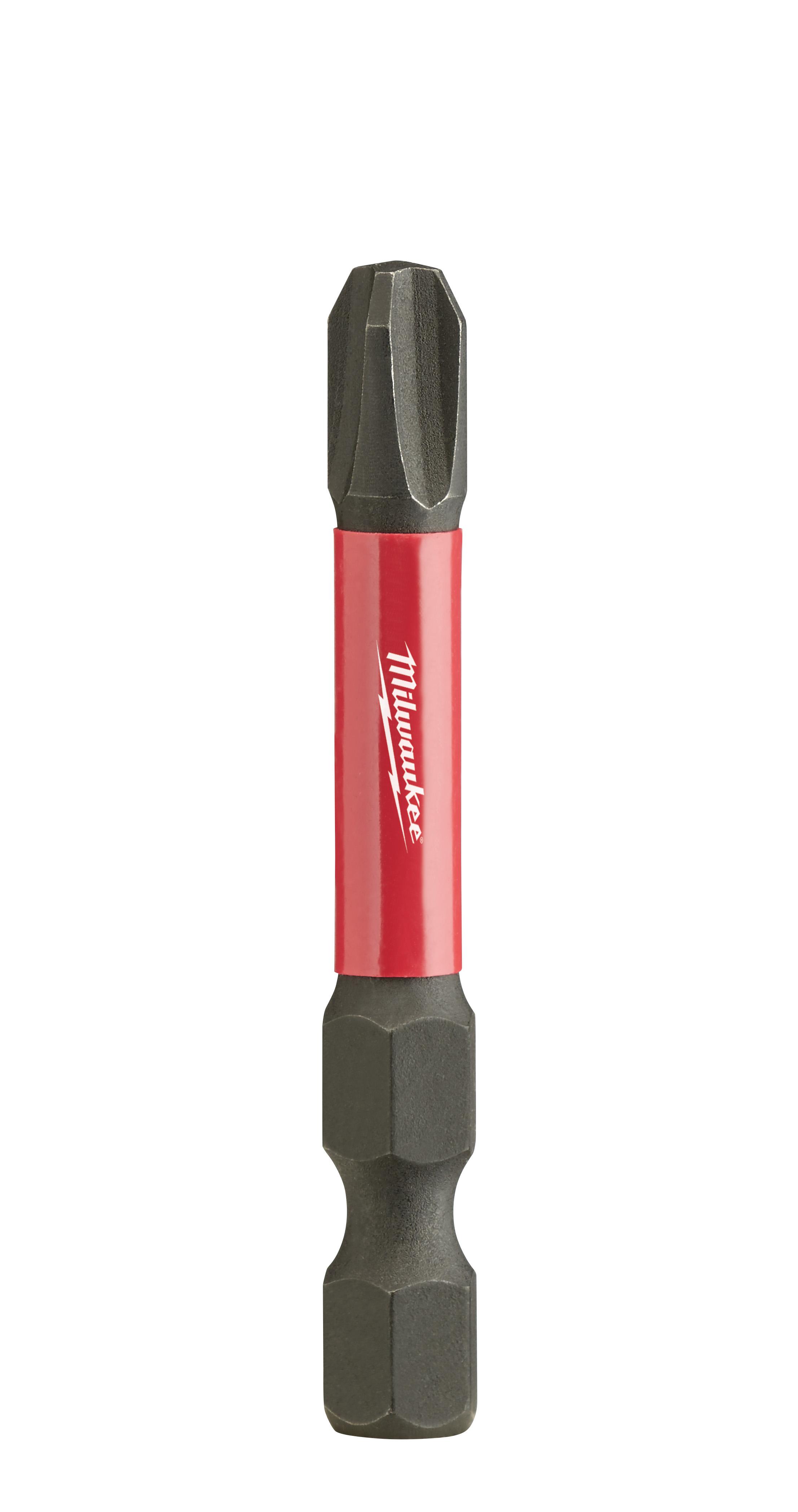 Milwaukee® SHOCKWAVE™ Impact Duty™ 48-32-4162 Impact Power Bit, #2 Phillips® Point, 2 in OAL, 1/4 in, Steel