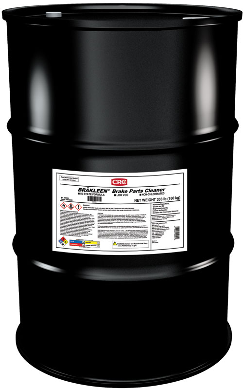CRC® 05052 Brakleen® Extremely Flammable Non-Chlorinated Brake Parts Cleaner, 5 gal Pail, Liquid, Clear, Solvent