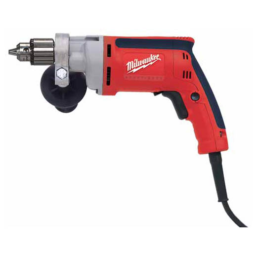 Milwaukee® 0101-20 Grounded Heavy Duty Electric Drill, 1/4 in Keyed Chuck, 120 VAC, 0 to 4000 rpm Speed, 10-13/64 in OAL