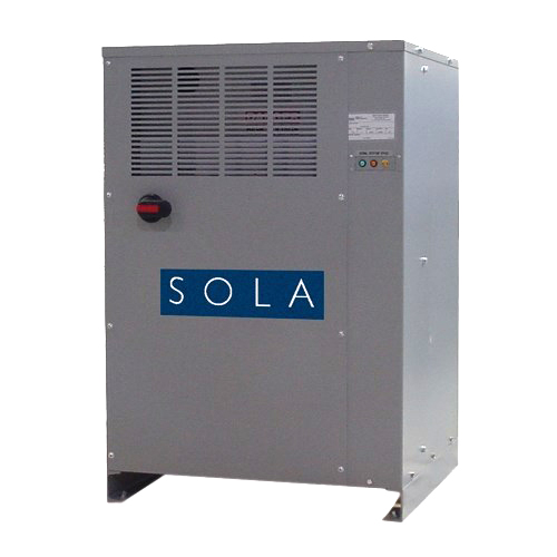 SolaHD SolaHD 63TCA350 SOLATRONPlus Power Conditioner, 480 VAC Input, 208Y/120 VAC Output, 3 Phase