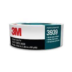 3M™ 051131-06969 Heavy Duty Duct Tape, 60 yd L x 2 in W, 0.27 mm THK, Rubber Adhesive, Polyethylene Backing, Silver