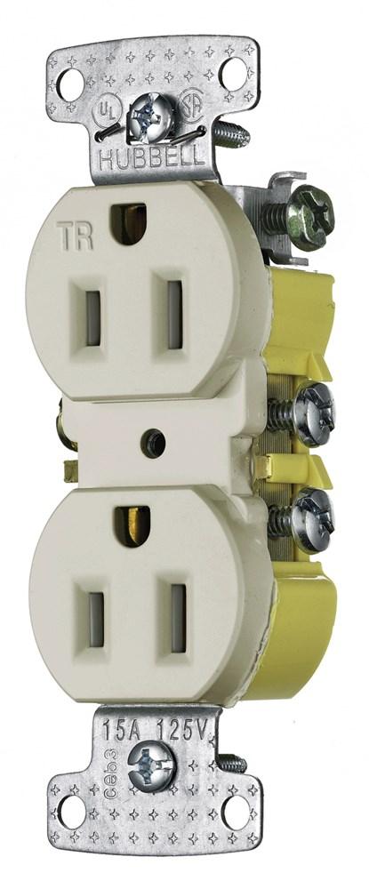 Wiring Device-Kellems RR15SLATR