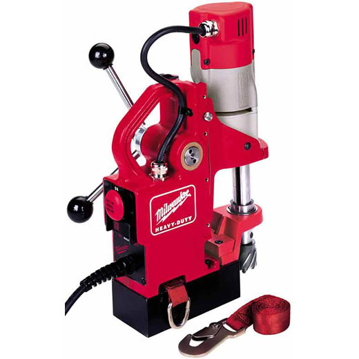 Milwaukee® 4270-20 Compact Portable Electromagnetic Drill Press, 1/2 in Chuck, 1-1/8 hp, 2 in Drill to Center From Base, 450 rpm Spindle, 120 VAC