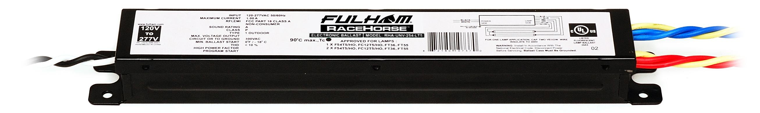 FULHAM® RHA-UNV-254-LT5