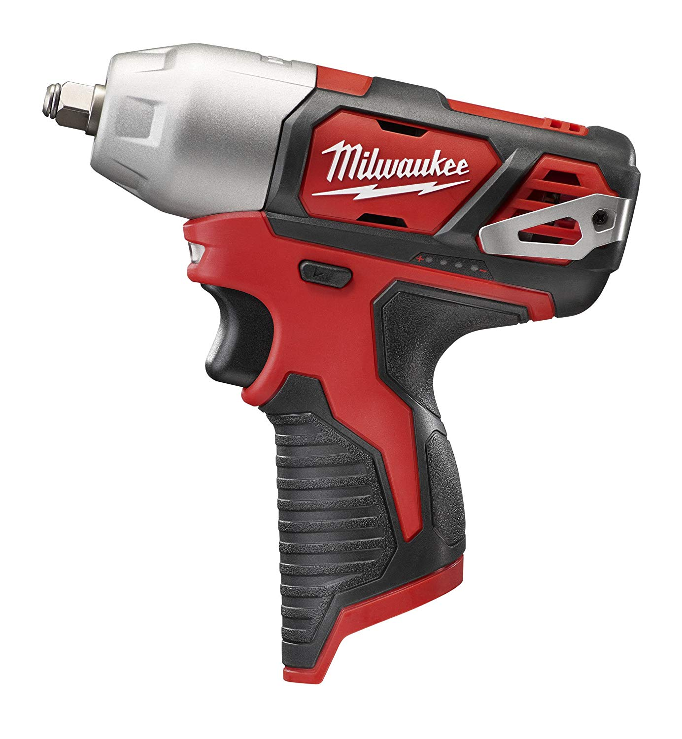 Milwaukee® M12™ 2462-22 Compact Lightweight Cordless Impact Driver Kit, 1/4 in Hex Drive, 0 to 3300 bpm, 1000 in-lb Torque, 12 VAC, 6-3/8 in OAL
