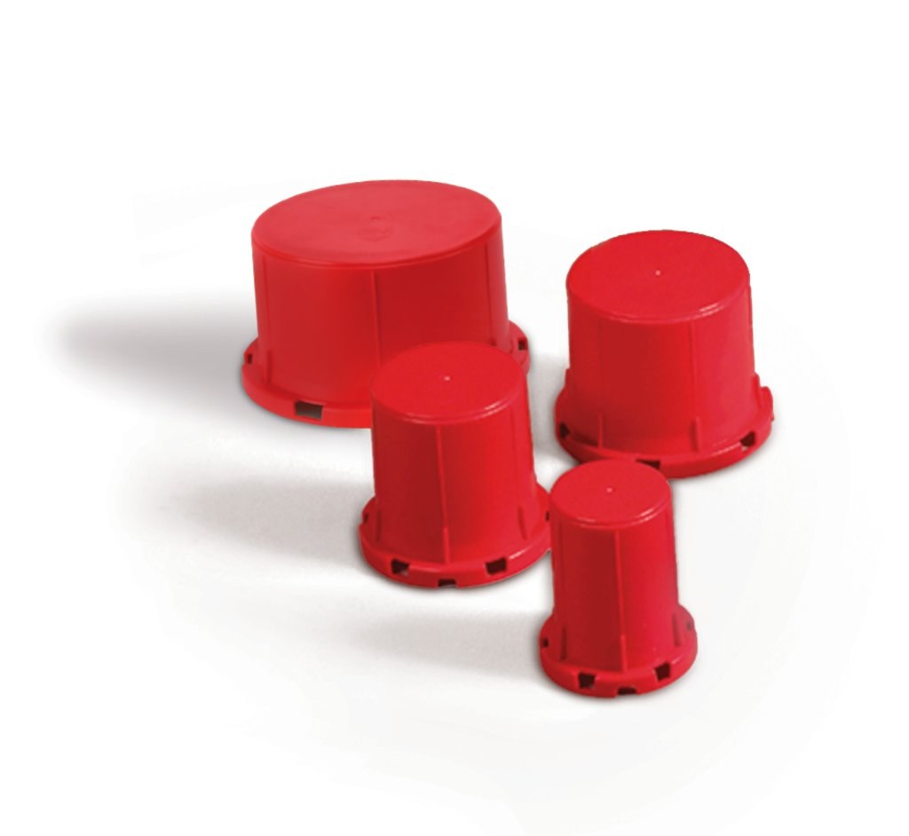 3M™ 051115-16542 Fire Barrier Cast-In Device, 3 hr Fire Rating