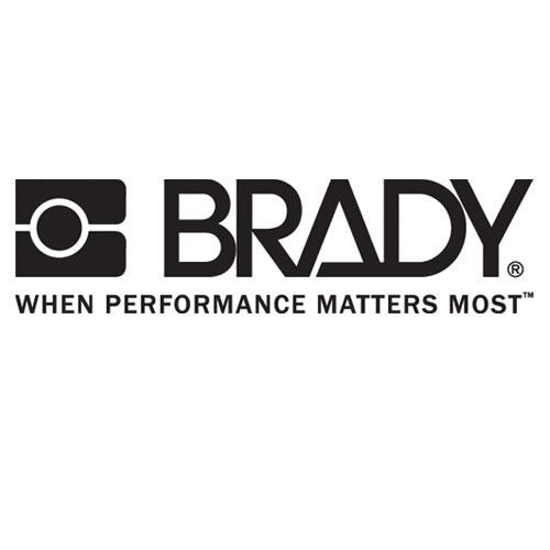 Brady®MC-375-595-WT-BK