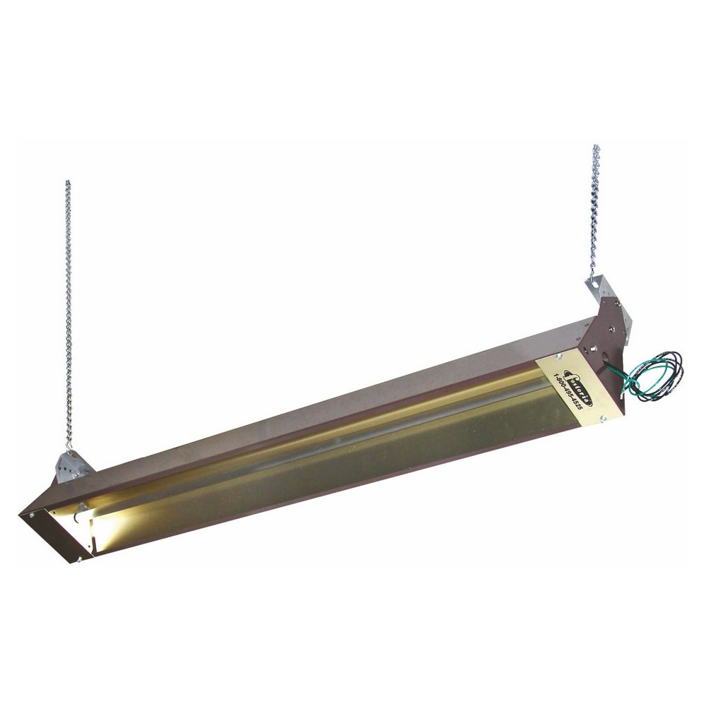 TPI H392096C 3900 1-Phase Standard Hydronic Electric Baseboard Heater, 6826/5100 Btu/hr, 208/240 VAC, 2000/1500 W, Wall Mount